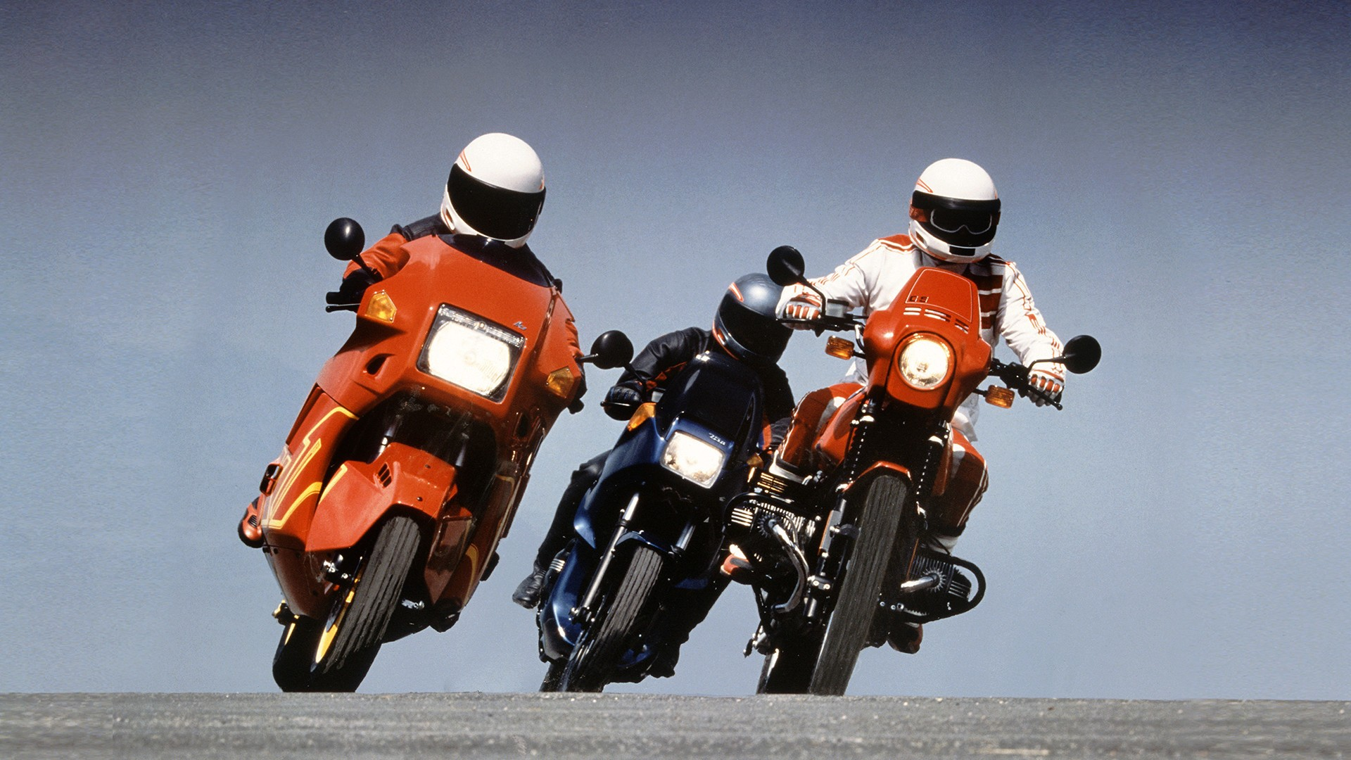 1995 год – 100 000 мотоциклов BMW с ABS