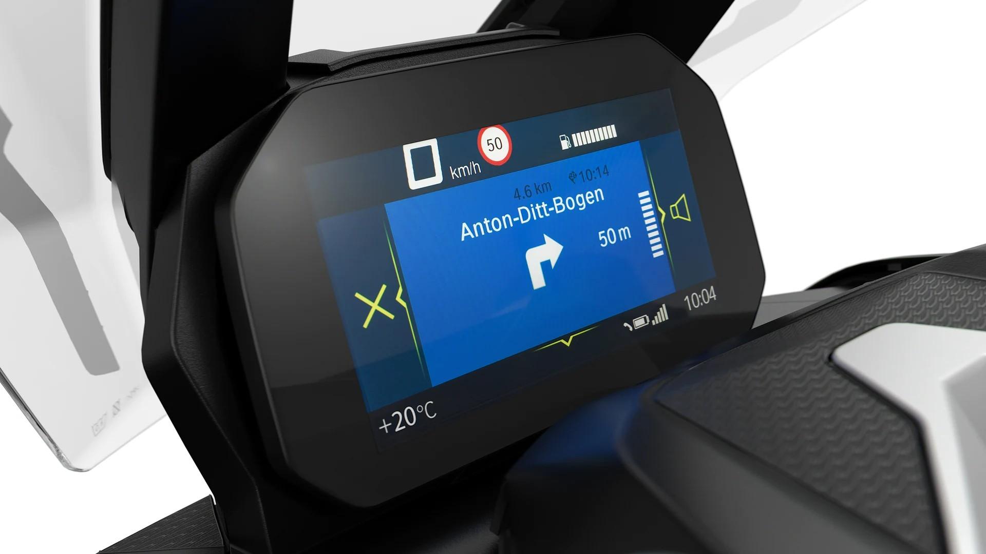 BMW Motorrad Connectivity з мультіконтроллером