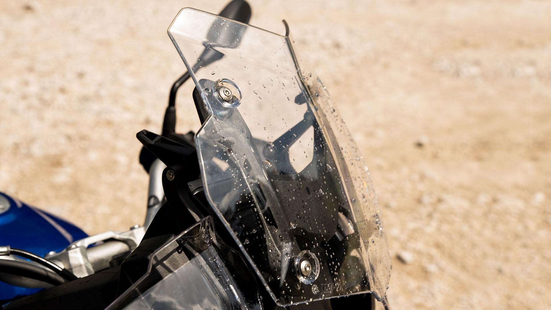 Высокое ветрозащитное стекло с регулировкой