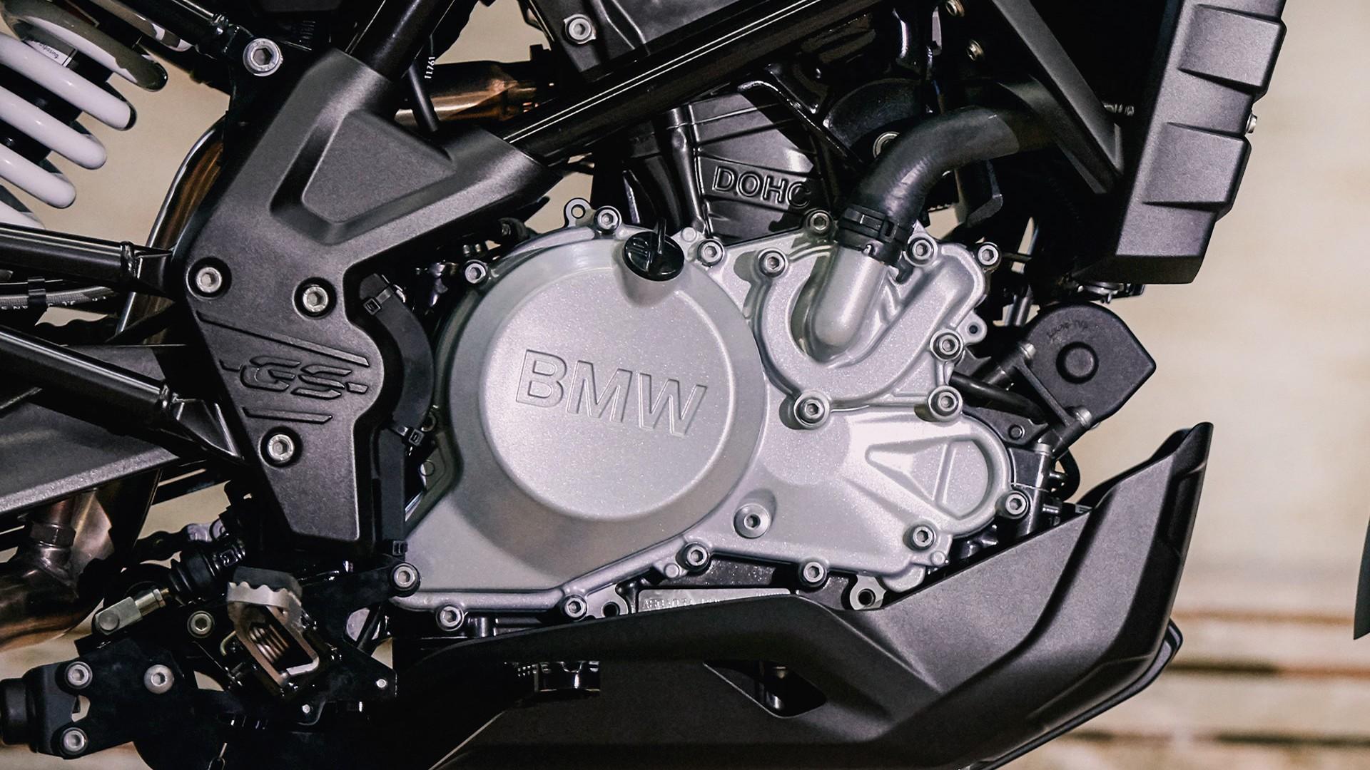 Сучасний одноциліндровий чотиритактний двигун