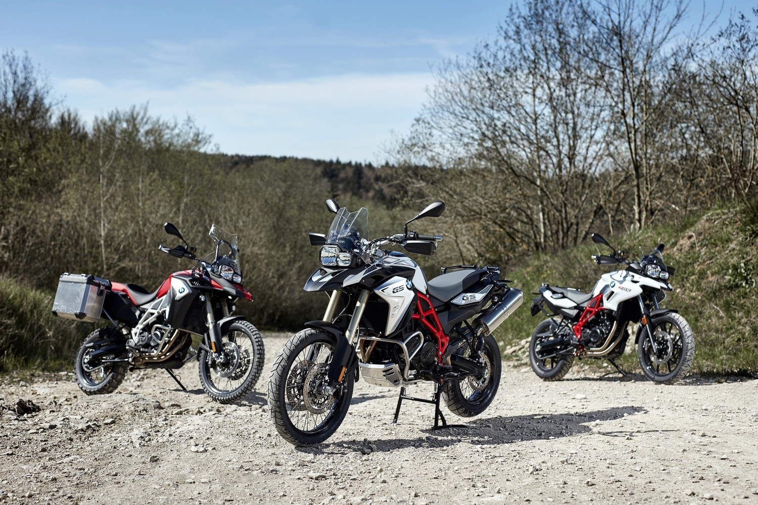 Обновленные BMW F 700 GS, F 800 GS and F 800 GS Adventure
