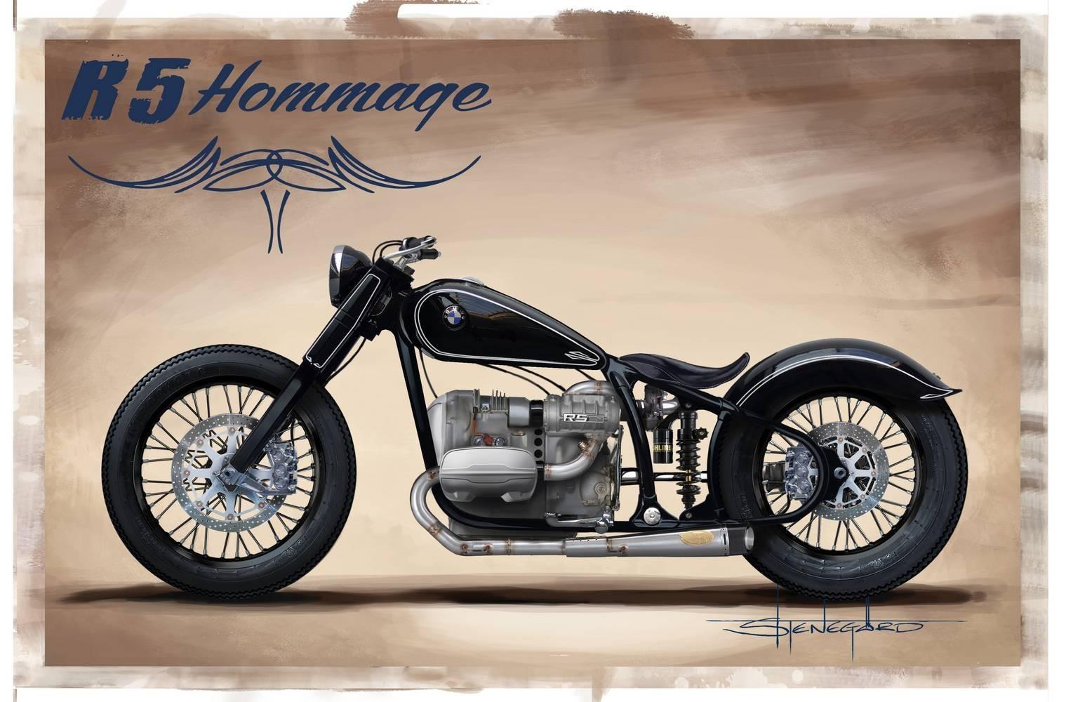 BMW Motorrad R 5 Hommage — возвращение легенды