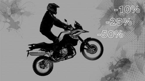 Triple Black Friday в BMW Motorrad Харьков!